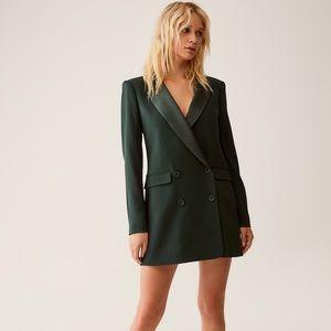 Aritzia black blazer dress size 4